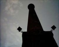Canna fumaria vista dal basso.  - Catania (2250 clic)