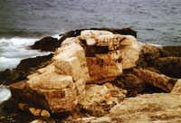 Bunker distrutto a cala Maluk  - Lampedusa (3538 clic)
