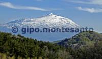 L'Etna dalla contrada Favoscuro.  - Floresta (4995 clic)