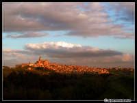 Panorama al tramonto  - Piazza armerina (4621 clic)