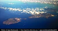 Isole Eolie. Veduta aerea delle Isole di Vulcano, Lipari e Salina  - Eolie (11966 clic)