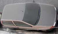 Auto coperta da cenere vulcanica  - Catania (7244 clic)