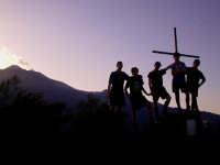 Scouting - Sulla cima di Monte Pomiciaro  - Etna (5169 clic)