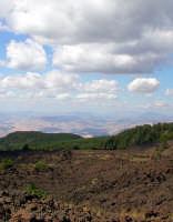 Paesaggio ripreso dall'altomontana dell'Etna  - Etna (3598 clic)