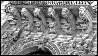 Piazza Duomo - Particolare del Palazzo dei Chierici  - Catania (2326 clic)