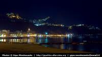 Panorama notturno del lungo mare e dei paesi di Castelmola e Taormina  - Giardini naxos (13132 clic)