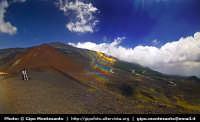I crateri fotografati con un circular fisheye 8mm.  - Etna (2012 clic)