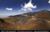 I crateri fotografati con un circular fisheye 8mm.  - Etna (2100 clic)