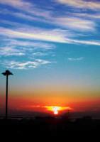 Alba dalla mia finestra in gennaio  - Catania (3195 clic)