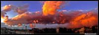 Panorama composito da una terrazza di via Androne  - Catania (2224 clic)