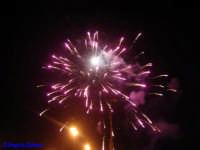 Fuochi d'artificio della sera di Pasqua 2007. Dal lungomare di Terrasini. TERRASINI stefy D.G.