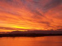 tramonto.  - Terrasini (5151 clic)