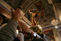 Il gioia alla fine della festa dentro la chiesa di santa maria la nova  SCICLI Giulio Miceli