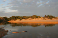 Pantano sulla spiaggi d Sampieri all'altezza di  baia Samuele  - Sampieri (2109 clic)