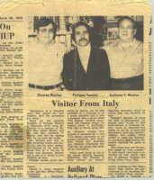 UN CIANCIANESE CHE VOLA IN AMERICA NEL 1973 ALLA RICERCA DI PARENTI CHE VIVONO IN CANADA E STATI UNITI.  L'ARTICOLO E' RIPORTATO DA UN GIORNALE LOCALE DELLA PENSILVANIA U.S.A  - Cianciana (4439 clic)