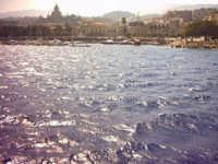 Il mare alle porte del molo  - Messina (4815 clic)