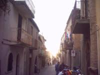 La via Roma.  - Roccavaldina (5656 clic)