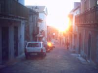 Ultimi raggi su Rocca.  - Roccavaldina (6631 clic)