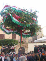 Festa degli schetti 2009(alzata dell'albero)  - Terrasini (5679 clic)