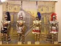 pupi siciliani Esposizione di pupi siciliani alla Cantina Borbonica  - Partinico (10515 clic)