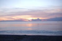 Alba spiaggia di marina di cottone Fiumefreddo di Sicilia  - Marina di cottone (7062 clic)