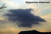 Nuvola sul lago di Ganzirri  - Messina (3631 clic)