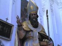 Un particolare della vara con la statua del santo patrono, s.s. nicola di bari, nel giorno della sua festa del 6 dicembre  - Salemi (1529 clic)