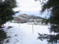Panorama di Motta sotto la neve visto da Rubino  - Motta d'affermo (9433 clic)