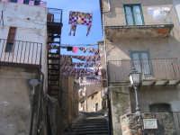 Per il Palermo tornato in serie A anche la caratteristica salita di San Carlo si veste di rosanero d