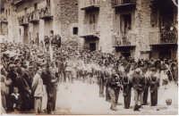 anni '30 si inaugura la caserma dei Carabinieri in questo piccolo centro dei Nebrodi  - Motta d'affermo (7020 clic)