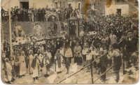 tutti i Santi portati in processione affinchè intercedano per una buona annata  - Reitano (6427 clic)