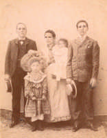 1902 - Foto di famiglia PALERMO Rocco Lo Presti