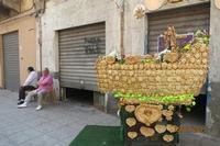 carro trionfale di Santa Rosalia fatto di pane (486 clic)