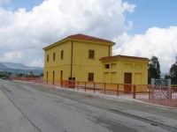 CASELLO APPENA RESTAURATO DELLA LINEA FERROVIARIA PALERMO LOLLI - PIANA DEGLI ALBANESI-SANTA NINFA L