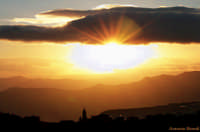 Tramonto biancavillese   - Biancavilla (2202 clic)
