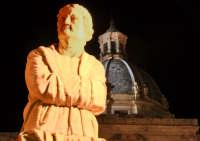 Piazza Pretoria e cupola chiesa di Santa Caterina PALERMO ANTONIO biondi