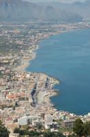 vista della costa di Aspra da monte Catalfano  - Aspra (3539 clic)