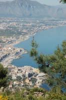vista della costa di Aspra da monte Catalfano  - Aspra (6606 clic)