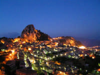 Caltabellotta: Panorama serale  - Caltabellotta (1493 clic)