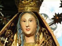 Festa di Maria SS. dei Miracoli e del SS. Crocifisso, protettori di Caltabellotta: Particolare della Madonna  - Caltabellotta (2521 clic)