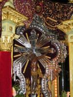 Festa di Maria SS. dei Miracoli e del SS. Crocifisso, protettori di Caltabellotta: il simulacro del SS. Crocifisso  - Caltabellotta (1752 clic)