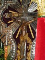 Festa di Maria SS. dei Miracoli e del SS. Crocifisso, protettori di Caltabellotta: il simulacro del SS. Crocifisso  - Caltabellotta (2151 clic)