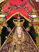 Festa di Maria SS. dei Miracoli e del SS. Crocifisso, protettori di Caltabellotta: il simulacro di Maria SS. dei Miracoli  - Caltabellotta (1797 clic)