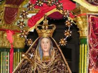 Festa di Maria SS. dei Miracoli e del SS. Crocifisso, protettori di Caltabellotta: il simulacro di Maria SS. dei Miracoli  - Caltabellotta (2083 clic)