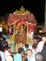 Festa di Maria SS. dei Miracoli e del SS. Crocifisso, protettori di Caltabellotta: il simulacro di Maria SS. dei Miracoli  - Caltabellotta (1500 clic)