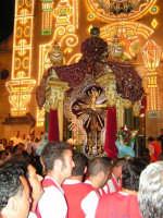 Festa di Maria SS. dei Miracoli e del SS. Crocifisso, protettori di Caltabellotta: il simulacro del SS. Crocifisso rientra nella Chiesa di Sant'Agostino  - Caltabellotta (1917 clic)