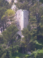 La torre del Castello della Regina Sibilla  - Caltabellotta (1393 clic)