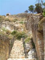 La scalinata sotto la rupe Gogala a Caltabellotta  - Caltabellotta (1532 clic)