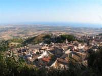 Panorama di Caltabellotta e vista sul Mediterrano  - Caltabellotta (1451 clic)