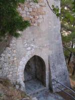 Particolare del portale di accesso al Castello di Caltabellotta  - Caltabellotta (1532 clic)